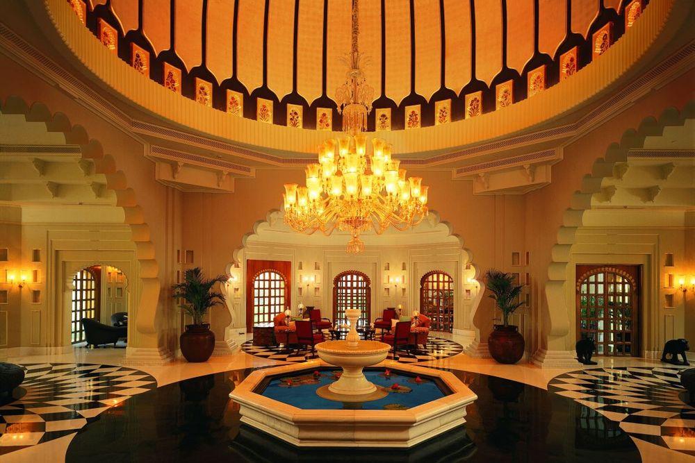 Lobby, The Oberoi Udaivilas, Udaipur, Indien Reise