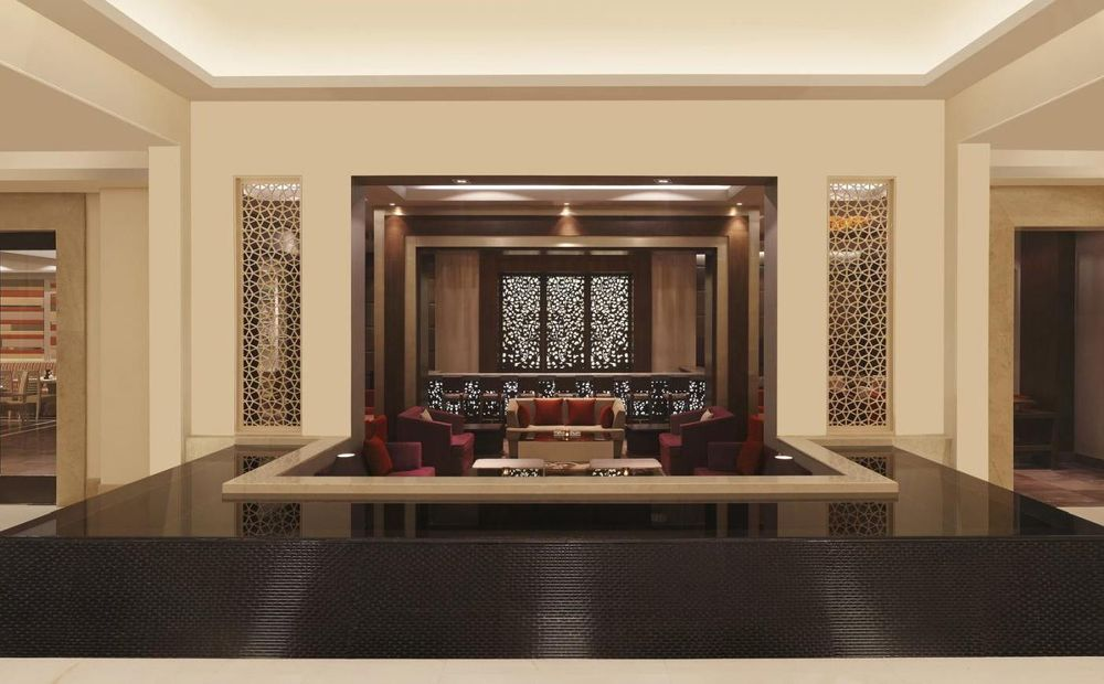 Lounge, DoubleTree by Hilton Agra, Indien Rundreise