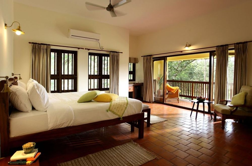 Zimmer, Windmere River House, Hotel, Slow Travel, Kerala, Indien Rundreise