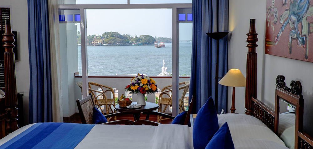 Sea Facing Room, Brunton Boatyard Hotel, Kochi, Indien Reisen